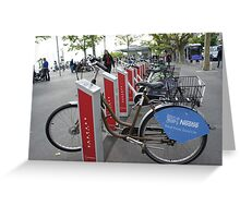 Ouchy - bikes and cycles Greeting Card
