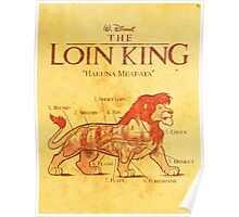 THE LOIN KING Poster