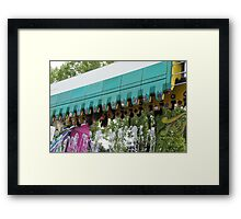 Ouchy - Upside down Framed Print