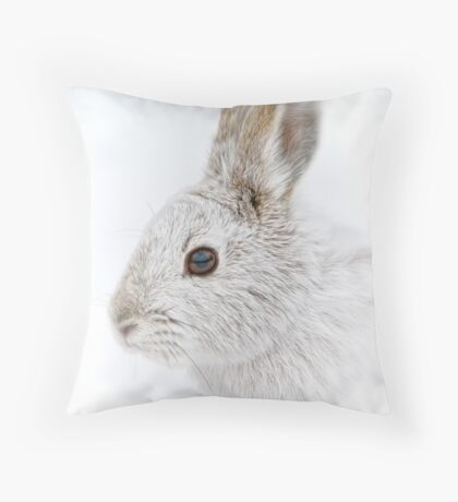 Showshoe Hare Throw Pillow