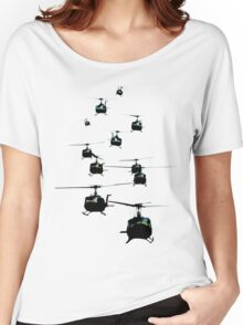 Huey Helicopters Women's Relaxed Fit T-Shirt