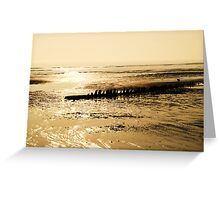 Shipwreck at Dawn  Greeting Card