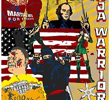 James Madison - Ninja Warrior! by badassdigest