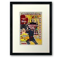 James Madison - Ninja Warrior! Framed Print
