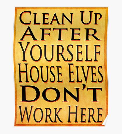 House Elves Poster
