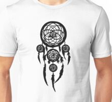 dream catcher(Black) Unisex T-Shirt