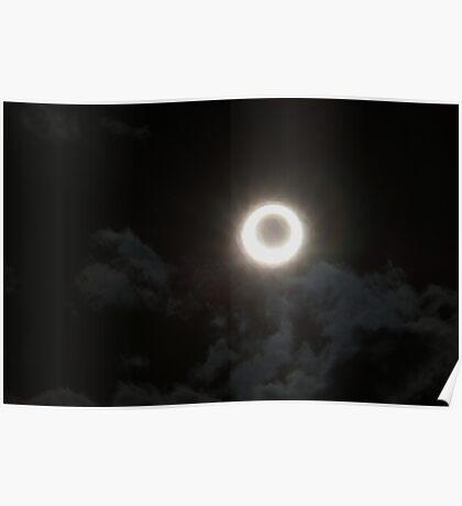 2012 Solar Eclipse Reno Nevada Poster