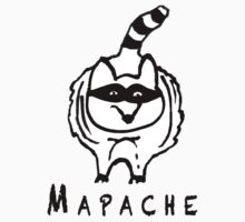 Mapache (Raccoon)  by bekorn20