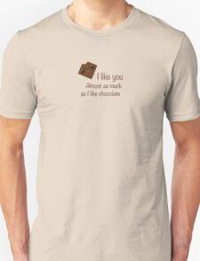Like chocolate Unisex T-Shirt