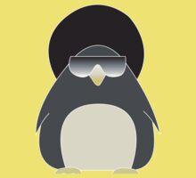 Afro Penguin  One Piece - Short Sleeve