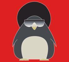Afro Penguin  Kids Tee