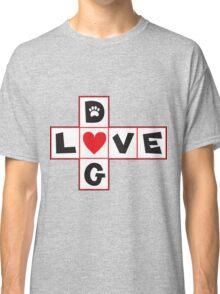 Dog Love Classic T-Shirt