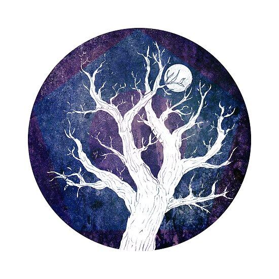 Moon by Flegge