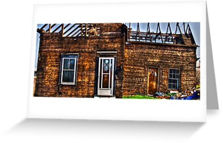 Condemned - HDR by Shawn Bourque