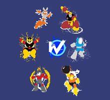 Robot Masters of Mega Man 1 Splatter Art Unisex T-Shirt