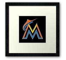 MLB - Marlins Framed Print