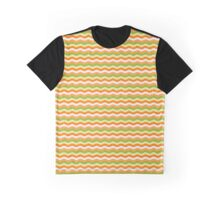Colored Line Art Graphic T-Shirt