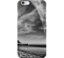 Laxey Beach on a Spring Afternoon iPhone Case/Skin