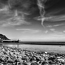 Laxey Beach on a Spring Afternoon by Sammie Caine