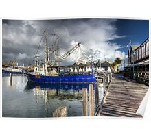 Fishing Boat Harbour - Fremantle - WA Poster