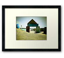 Summer Sand Box Fun 04 Framed Print