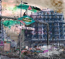 Memories of Spain 12 - Gran Via of Madrid by Igor Shrayer
