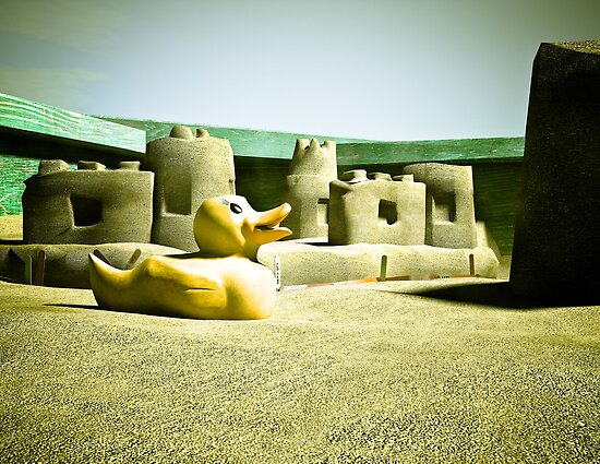 Summer Sand Box Fun 06 by mdkgraphics