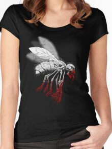 INSECT POLITICS Women's Fitted Scoop T-Shirt