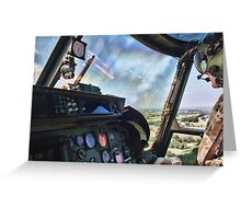 Lynx Over Somerset Greeting Card