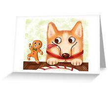 Corgi Christmas Greeting Card