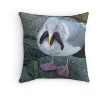 Seafood For Lunch Throw Pillow