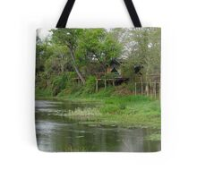 Remote Africa Tote Bag