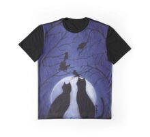 Listen to the Silence at Night Graphic T-Shirt