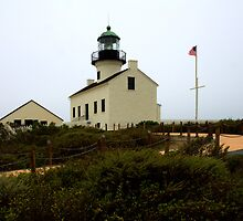 Point Loma Lighthouse by Bob Christopher