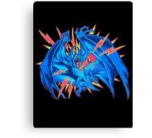 VAMPIRE BAT: STAKED! Canvas Print