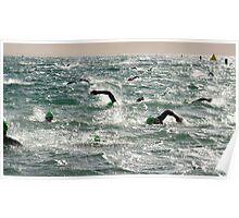 Ironman Swim Utah 2012 Poster
