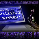 Banner ~ Digital Art At Its Best -ChallengeWinner-mockup by murals2go
