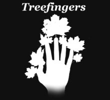 Kid A Series- Treefingers (White) by boockly22