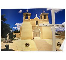 San Francisco de Asis Church Poster