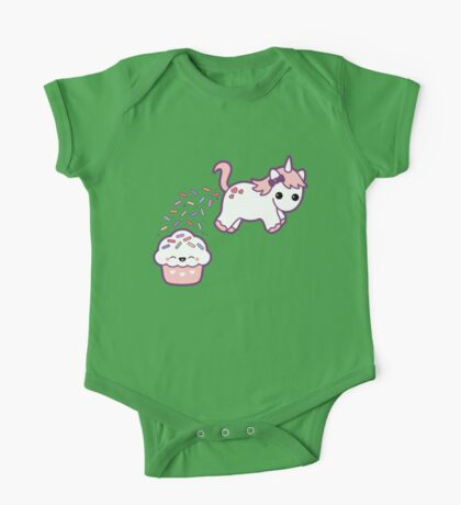 Sprinkle Poo One Piece - Short Sleeve