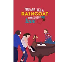 Fun Home - Raincoat of Love Photographic Print