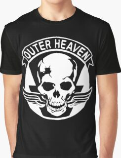 Outer Haven Logo White Graphic T-Shirt