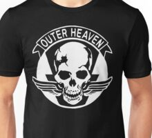Outer Haven Logo White Unisex T-Shirt