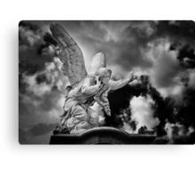 Attending Angel Canvas Print
