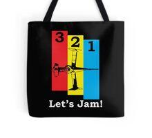 3, 2, 1, Let's Jam! Tote Bag