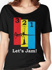 3, 2, 1, Let's Jam! Women's Relaxed Fit T-Shirt