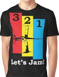 3, 2, 1, Let's Jam! Graphic T-Shirt