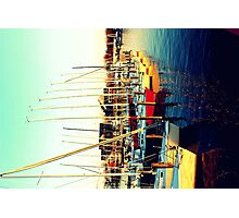 Golden Sails Photographic Print