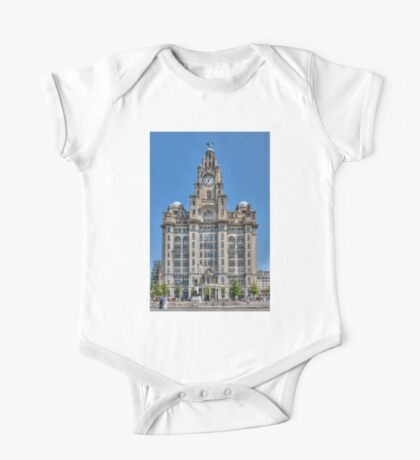 The Liver Building - Liverpool One Piece - Short Sleeve