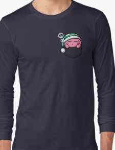 Pocket Kirby  Long Sleeve T-Shirt